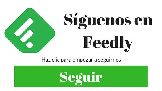 Siguenos enFeedly